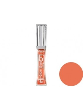 Gloss L'OREAL Glam Shine Brillance 6H ADDICTIVE AMBER N°402