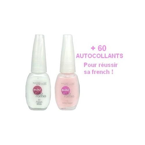 kit French GEMEY MAYBELLINE Colorama ROSE NATUREL