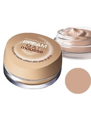 Fond de teint GEMEY MAYBELLINE Dream Mat Mousse