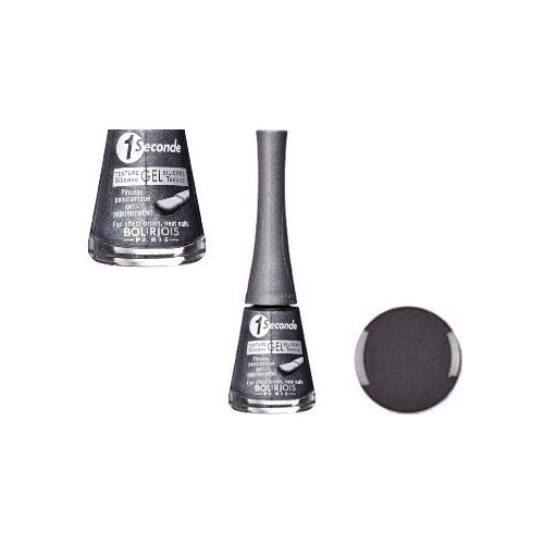 Vernis à ongles BOURJOIS 1 Seconde Par Ongle Gel Silicone GRIS NIGHTOMIC 17