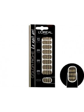 Stickers L'OREAL Color Riche Nail Art OR LAME 008
