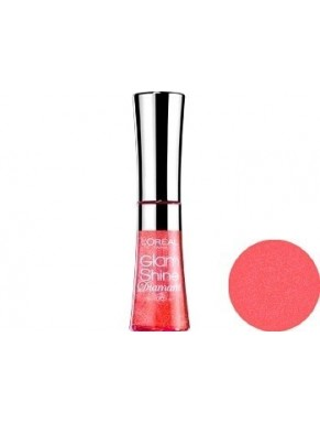 Gloss L'OREAL Glam Shine Brillance Miroir AQUA GRAPEFRUIT 186