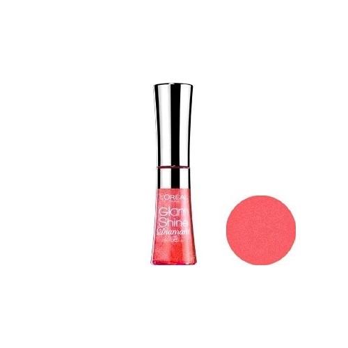 Gloss L'OREAL Glam Shine Brillance Miroir AQUA GRAPEFRUIT 186