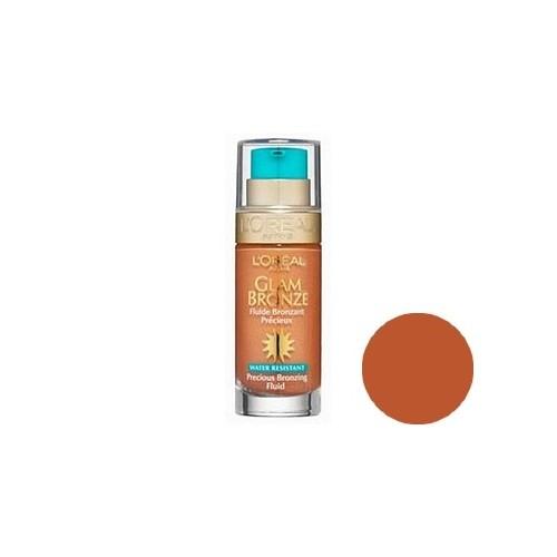 Fluide bronzant précieux L'OREAL Glam Bronze BRUNETTES 04 water resistant