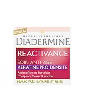 Soin Anti Age DIADERMINE Reactivance Keratine Pro Densite 50ml