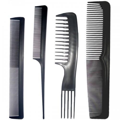 Kit complete de 4 peignes de coiffure