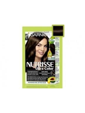 Coloration GARNIER Nutrisse crème NOIR N° 3.03