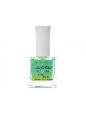 Vernis soin GEMEY MAYBELLINE Express manucure FORTI FLUOR